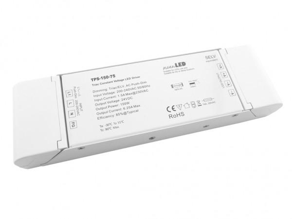 TPS-150-24 dimmbares LED Netzteil 150W 24VDC Push-Dim Triac