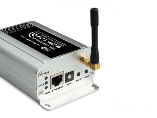 WIFI-104 Multizonen LED WiFI Controller 4-Kanal inkl. RF Fernbedienung