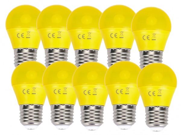 LED Leuchtmittel A5 G45 4W E27 Gelb 10er Pack