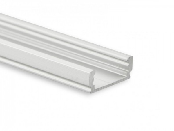 LED Alu-Profil YL1 (satiniert) ohne Blende