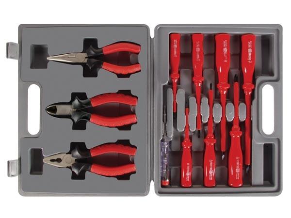 11-Teiliges Werkzeugset inkl. Koffer