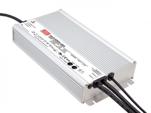 HLG-600H-12A Outdoor-Netzteil IP65 12V / 480W / TÜV