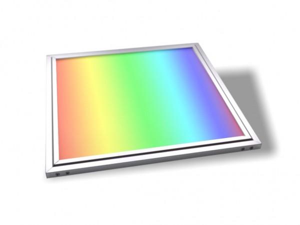 LED Panel 300x300x9,5mm, RGB+CCT, 18W, 24VDC