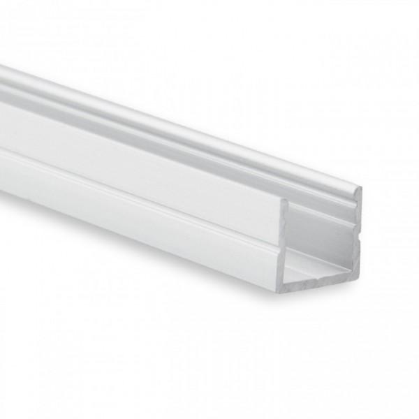 LED Alu-Profil YO16 (satiniert) ohne Blende 2m