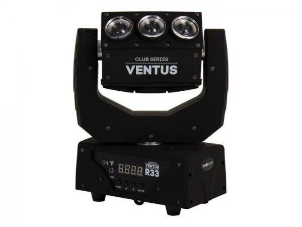 VENTUS R33 LED Effekt Head 40W 9x10W RGBW 22 DMX Kanäle