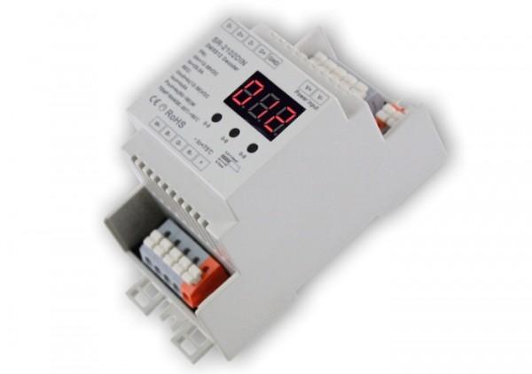 SR-2102DIN LED Controller 4-Kanal DMX Hutschiene