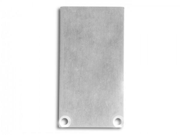 Endkappe (Paar) E49 Aluminium für Alu-Profil YN6/YN7 - C12