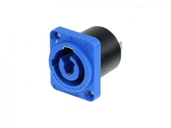 NAC 3 MPA-1 powerCON Einbaubuchse 230V blau IN