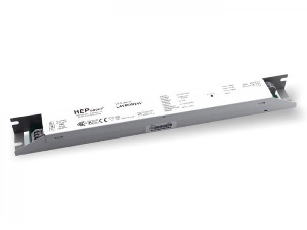 LAV-60-24V LED Kompaktnetzteil 24V / 60W constant voltage 1-10V dimmbar