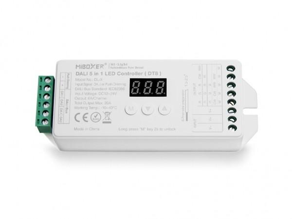 DL-X DT8 5in1 DALI LED Controller 12-24VDC 20A