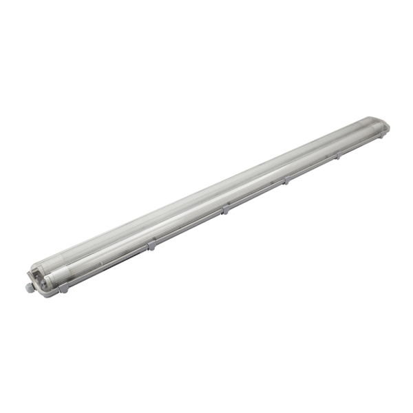 Feuchtraumleuchte Basic Doppelt 120cm 3600lm 18W inkl. 2x LED T8 Röhre