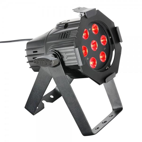 LED Studio Mini PAR 7x8W QuadLED RGBW