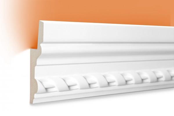 LED Stuckprofil Typ: 5 - 105x35mm PU 2m Länge lichtundurchlässig überstreichbar