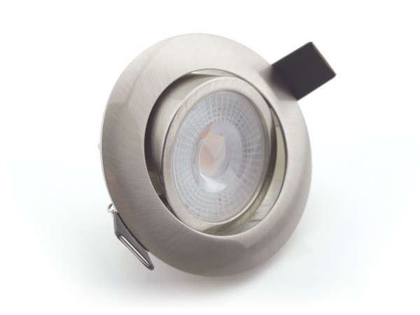 DL-701-7D LED Downlight 7W 3000K 600lm 3-Stufen-Dimmung alu
