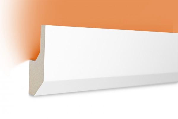 LED Stuckprofil Typ: 7 - 80x33mm PU 2m Länge lichtundurchlässig überstreichbar