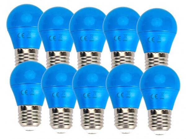 LED Leuchtmittel A5 G45 4W E27 Blau 10er Pack