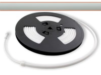 LED Flex Stripe LEDTUBE 5m 5000-5200K opalweißer Schlauch ohne Pixel 24V DC 300LED/m IP67 CRI90