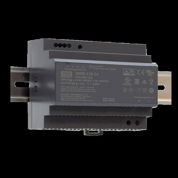 HDR-150 Hutschienen Netzteil 150W / ultra-slim / CV / TÜV