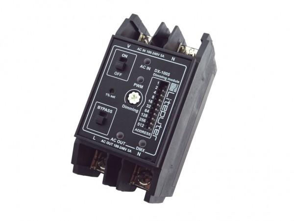 DX-1005 1-Kanal DMX Dimmer für LED Retrofit - flackerfrei