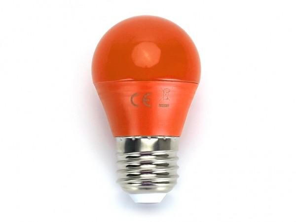LED Leuchtmittel A5 G45 4W E27 Orange