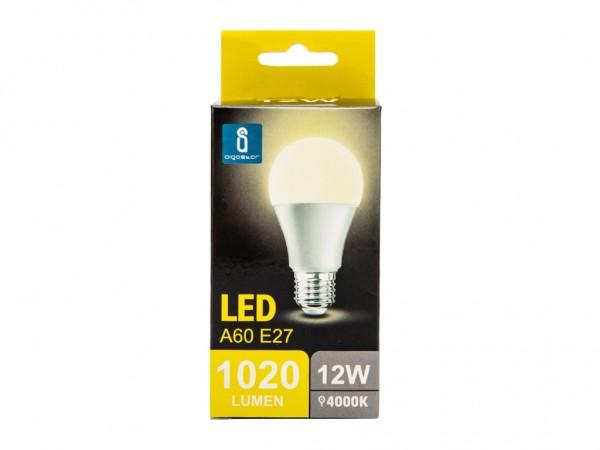LED Leuchtmittel A60 12W E27 4000K neutralweiss
