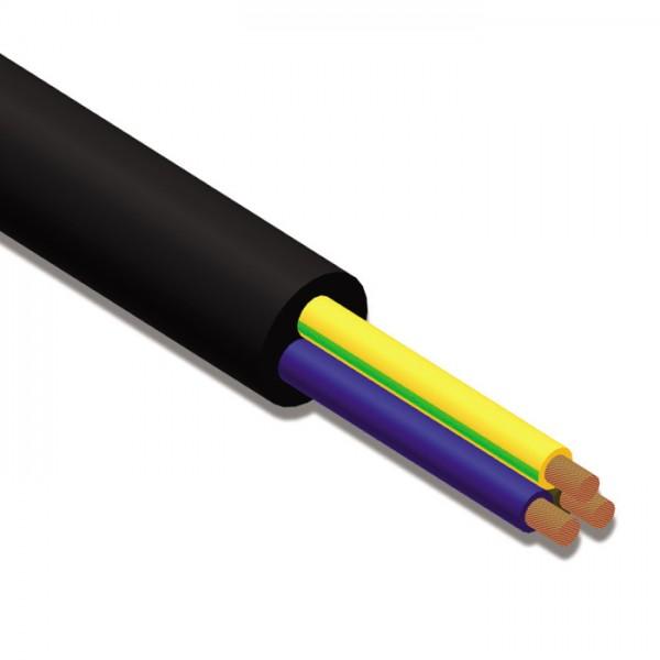 H07RNF3G250 230V-Kabel 3x 2,5mm² / 1m (Meterpreis)