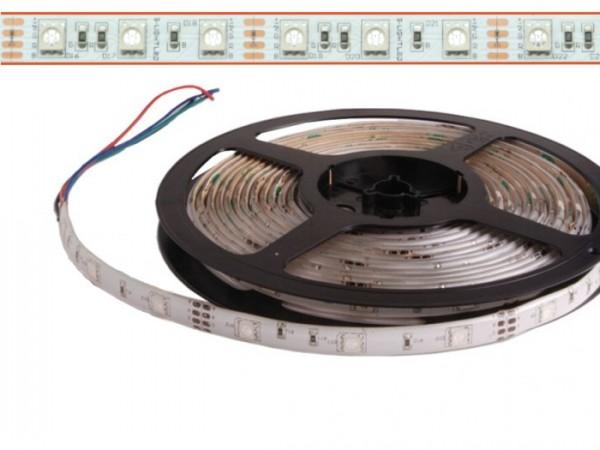 LED Flex Stripe 5m RGB 5050 SMD 60 LEDs/m 12V DC
