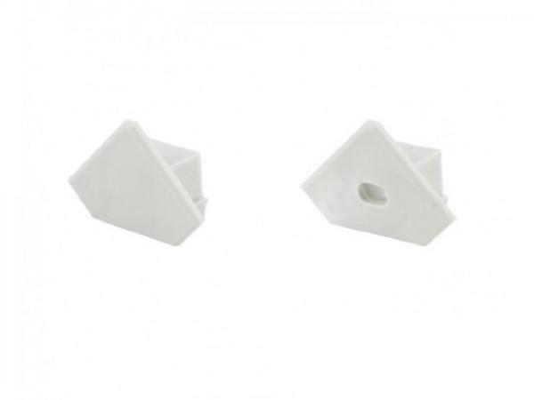 LED Profil *PDS-45* Abschlusskappe mit Loch