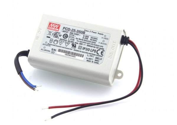 PCD-25-700 Netzteil (CC) 700mA 24~36V 25,2W