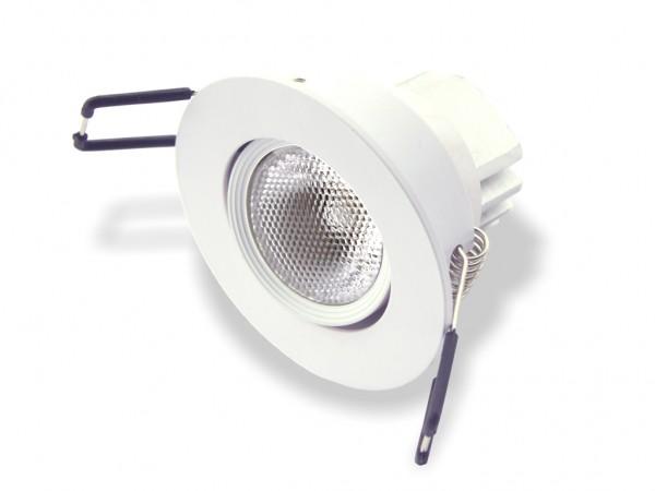 DLD-08RGBW DMX LED Einbaudownlight RGBW Farbmischung 8W