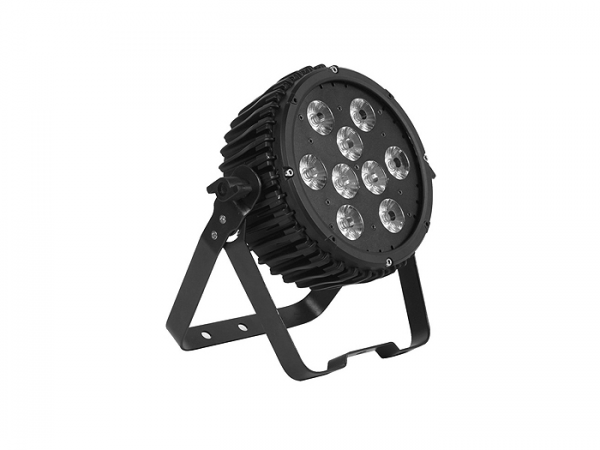 LEDSPOT 95 Scheinwerfer 9x10W Multi-Chip RGBWA 5-9 DMX-Kanäle