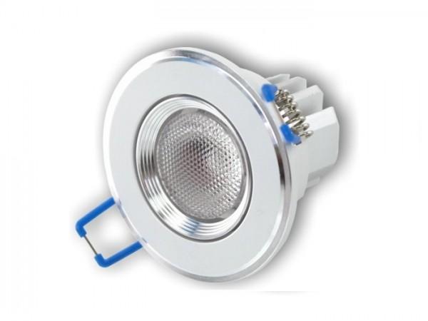 DL-08RGBW LED Einbaudownlight RGBW Farbmischung 8W, inkl. Vorschaltgerät