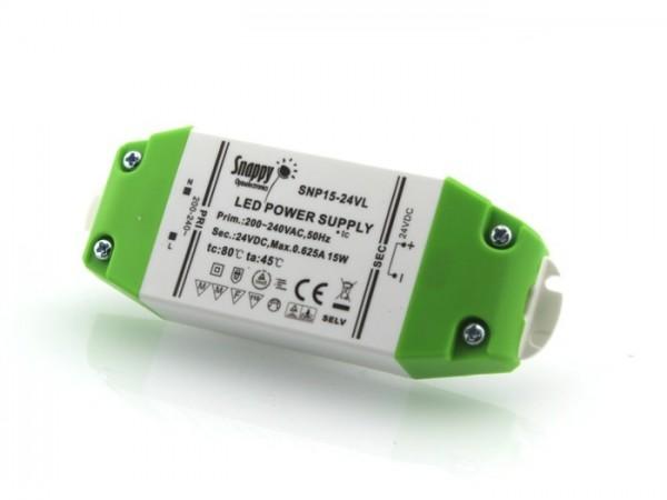 SNP-15-24 LED Netzteil 24V 0,62A TÜV constant voltage