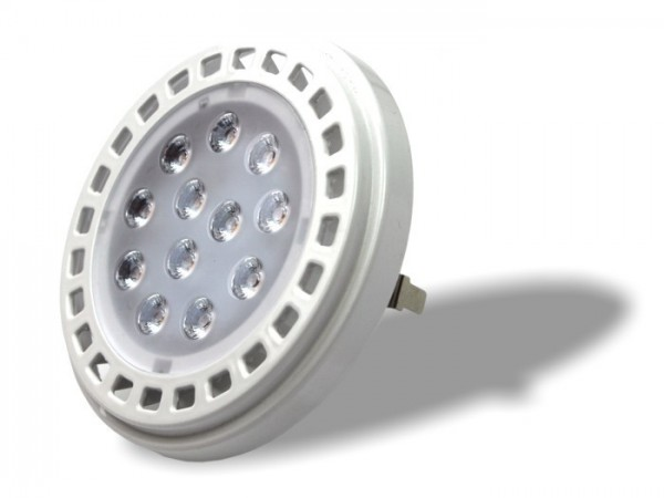 AR111-EC LED 15W 12V G53 warmweiss 3000K 970lm/m CRI>80