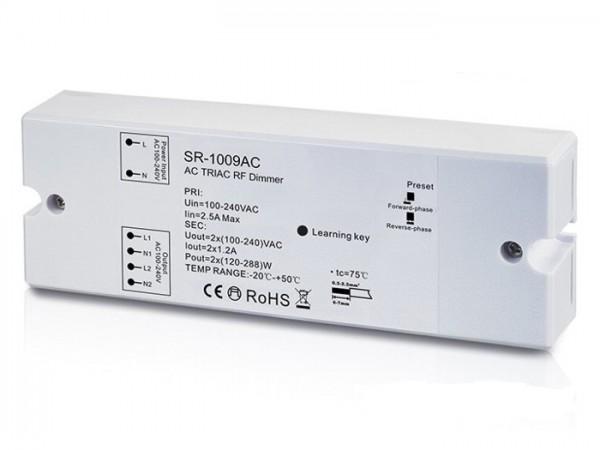 SR-1009AC 230V AC Funk Controller Empfänger 2x1,2A 868MHz