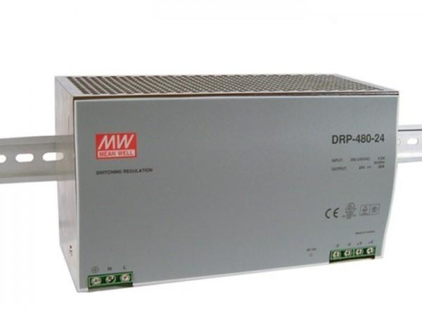 DRP-480-24 Hutschienen Netzteil 24V / 480W / 20A TÜV
