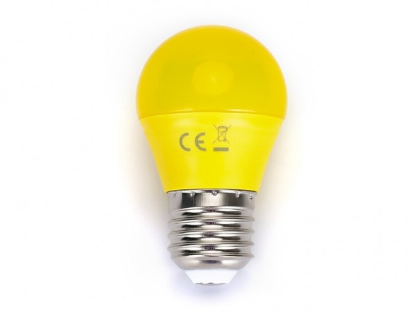 LED Leuchtmittel A5 G45 4W E27 Gelb