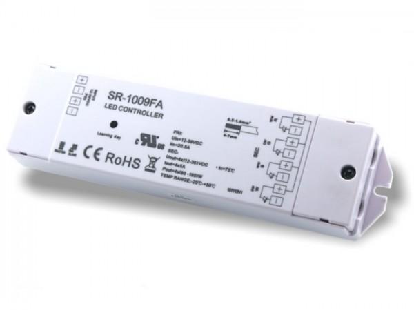 SR-1009FA LED Controller Funk Empfänger RGBW 4x5A 12-36V DC 868MHz