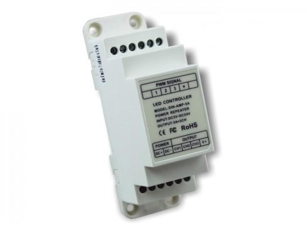 LT-DIN5-AMP LED Repeater 3-Kanal Hutschiene