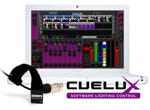 CUELUX DMX Software 512 Kanäle + ArtNet