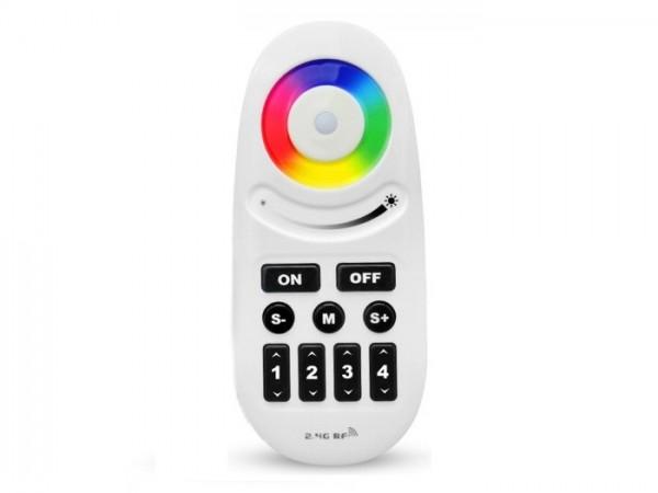 MI-095 LED Fernbedienung RGBW-Controller 4 Zonen 2,4GHz