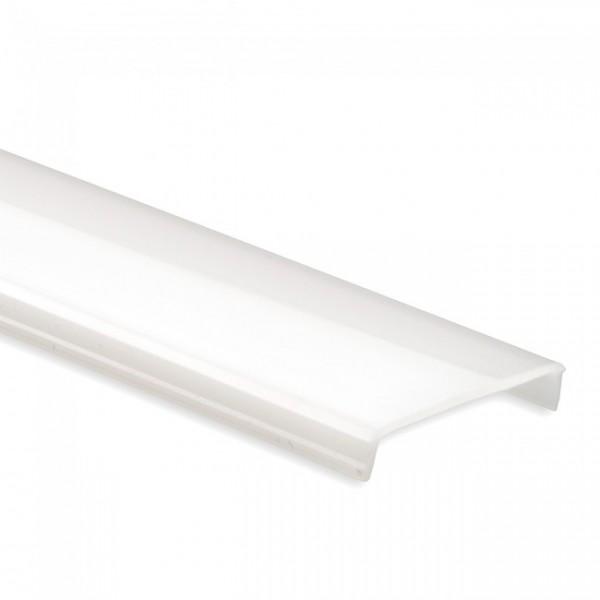 C7 Blende opal für Alu-Profil YL11 Profil 2m