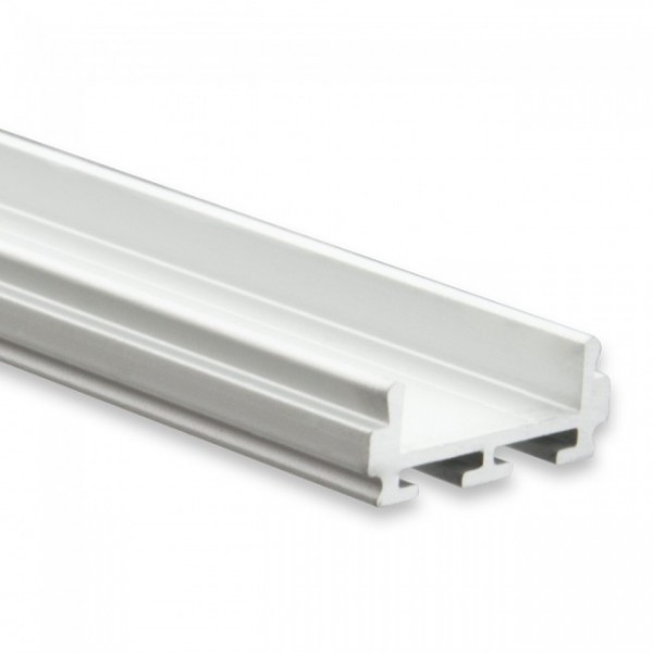 LED Alu-Profil YL6 (satiniert) ohne Blende 2m