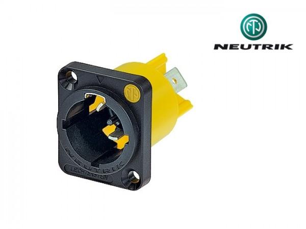 NAC 3 MPX Einbausteckdose 230V IP65 male