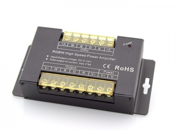 LED Repeater RP-48AP RGBW 4x 8A 5-24VDC