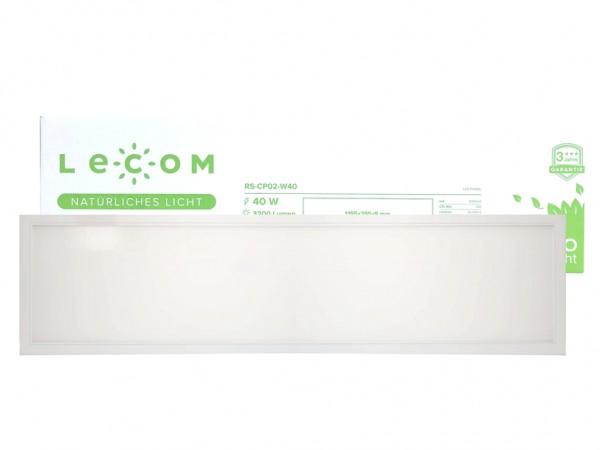 LED Panel 1195x295x9mm, 40W, 3600lm, CRI Ra>90 flimmerfrei, inkl Netzteil