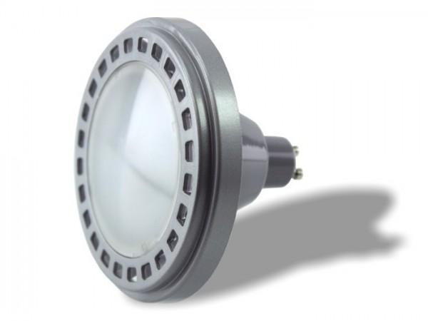 ES111-EC LED 15W GU10 dimmbar kaltweiss 6400K 990lm/m CRI>80