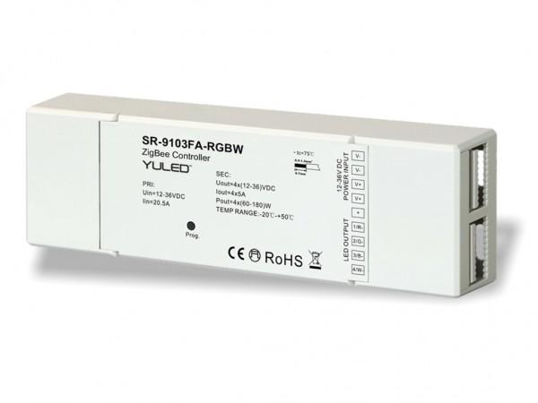 SR-9101FA-RGBW ZigBee 4-Kanal LED Controller 4x5A 12-36V DC