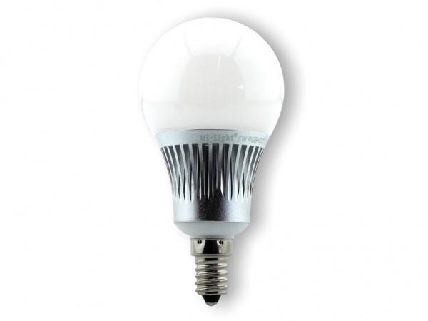 MI-013 LED Leuchtmittel E14 230VAC RGB-CCT 5W 450lm RF