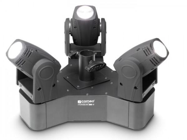 HYDRABEAM 300 W LED Moving Head Set 3x10W WEISS 6-27 DMX-Kanäle